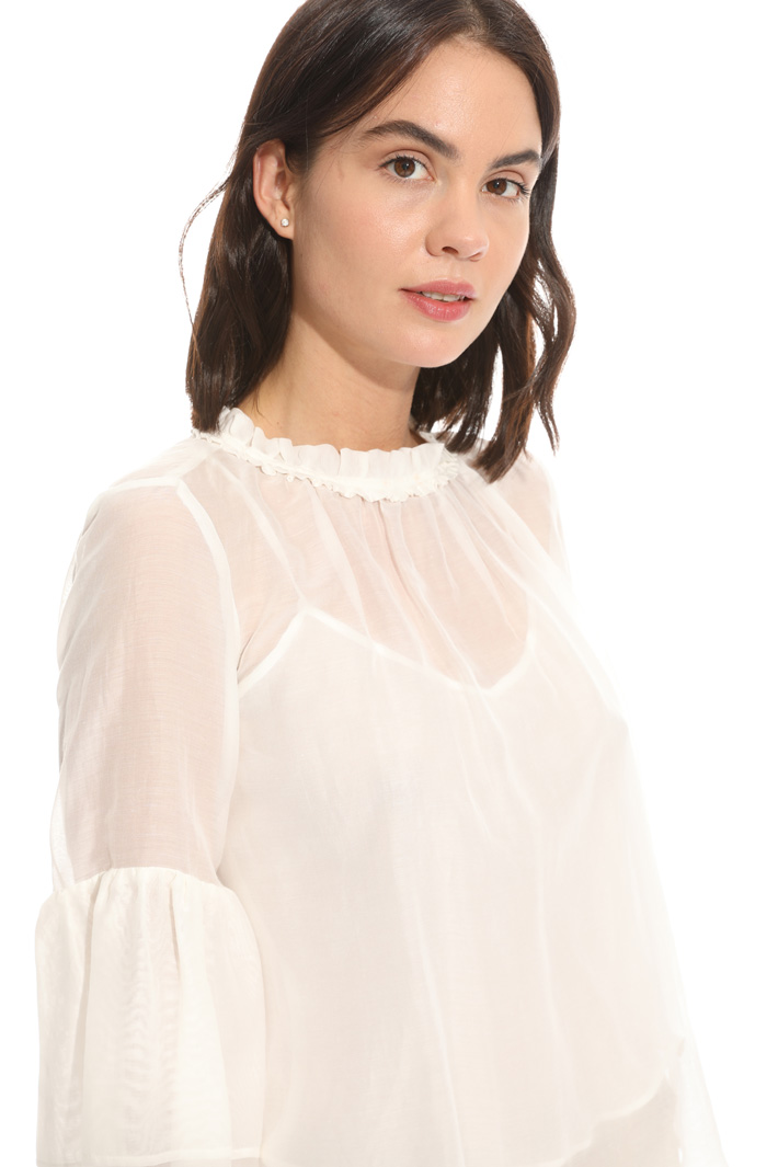 Top boxy in voile Fashion Market