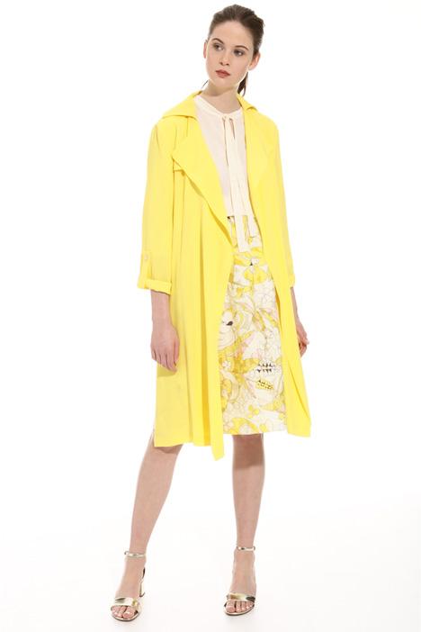 Spolverino in tessuto crepe Fashion Market