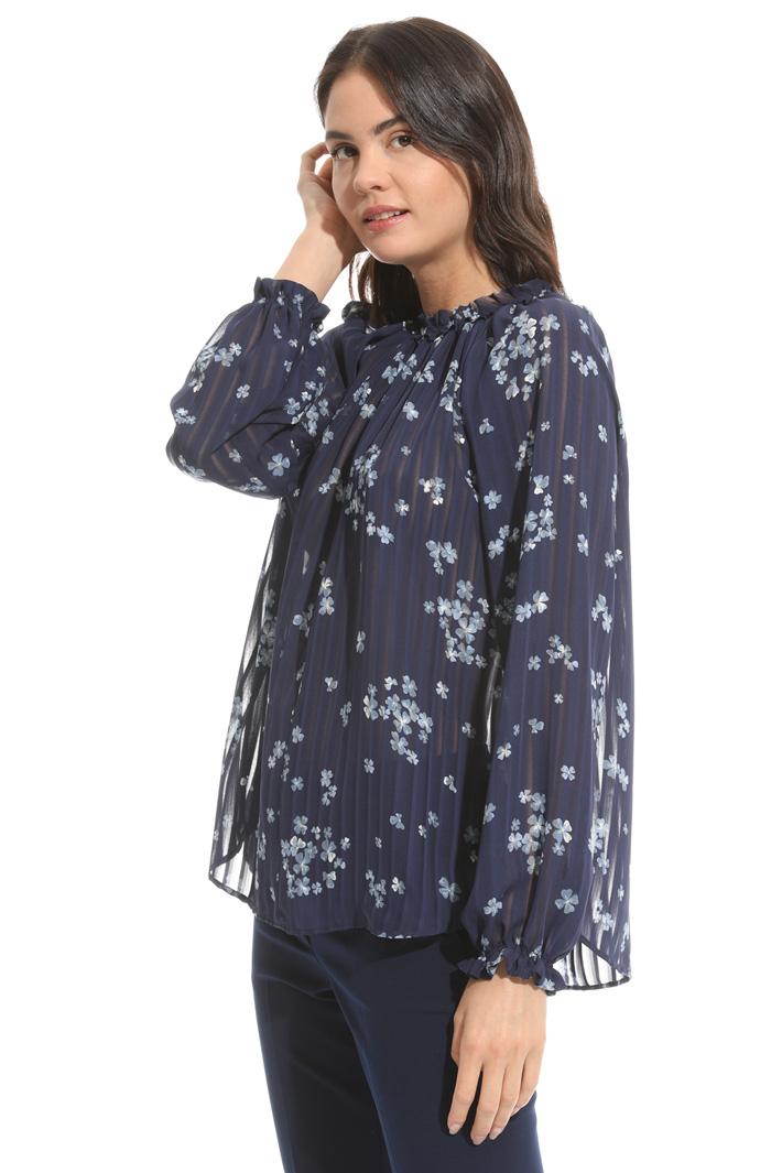 Blusa in tessuto crepe Fashion Market