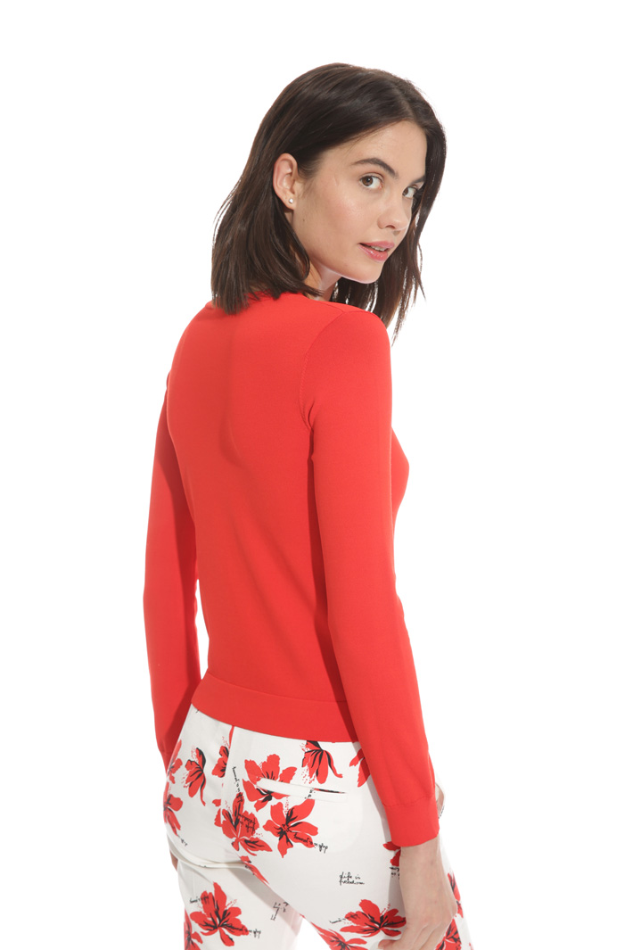 Cardigan in viscosa crepe Fashion Market