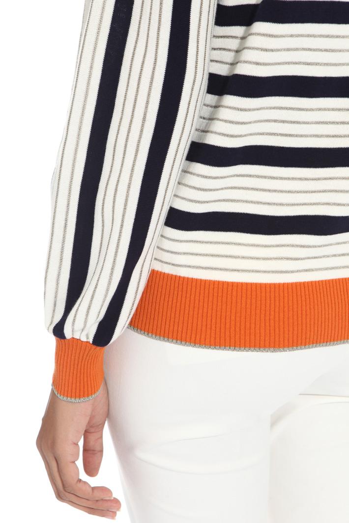 Maglia in cotone lurex Fashion Market