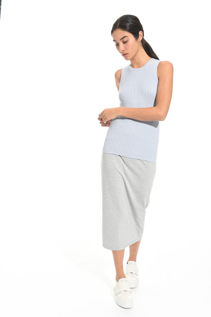Top a coste in cotone Fashion Market