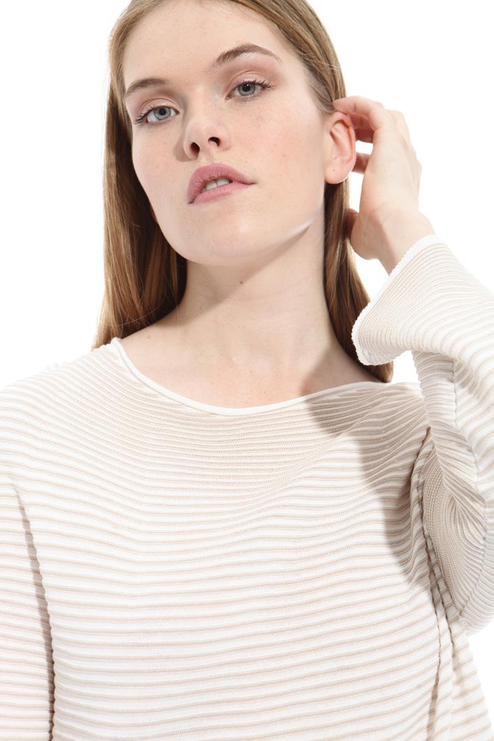 Maglia in cotone a costine Fashion Market