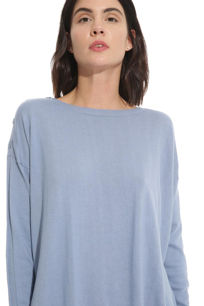 Maglia in cotone e seta Fashion Market