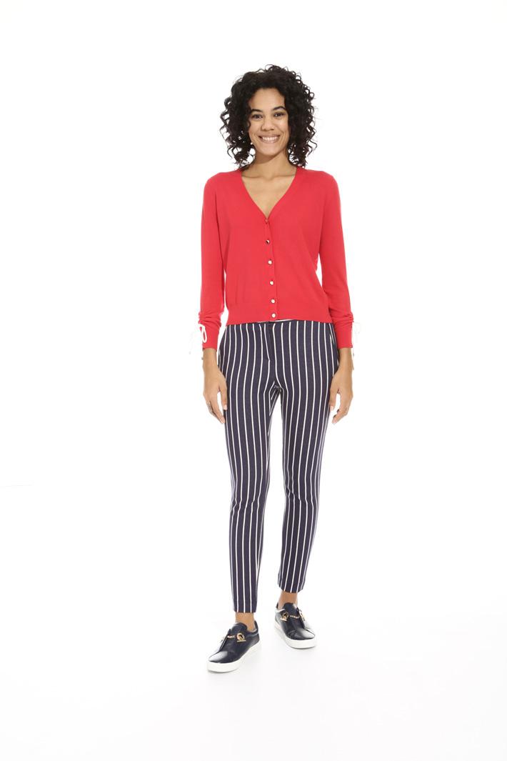 Pantalone in jersey jacquard Fashion Market