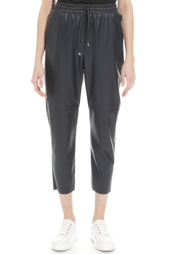 Pantalone effetto pelle Fashion Market