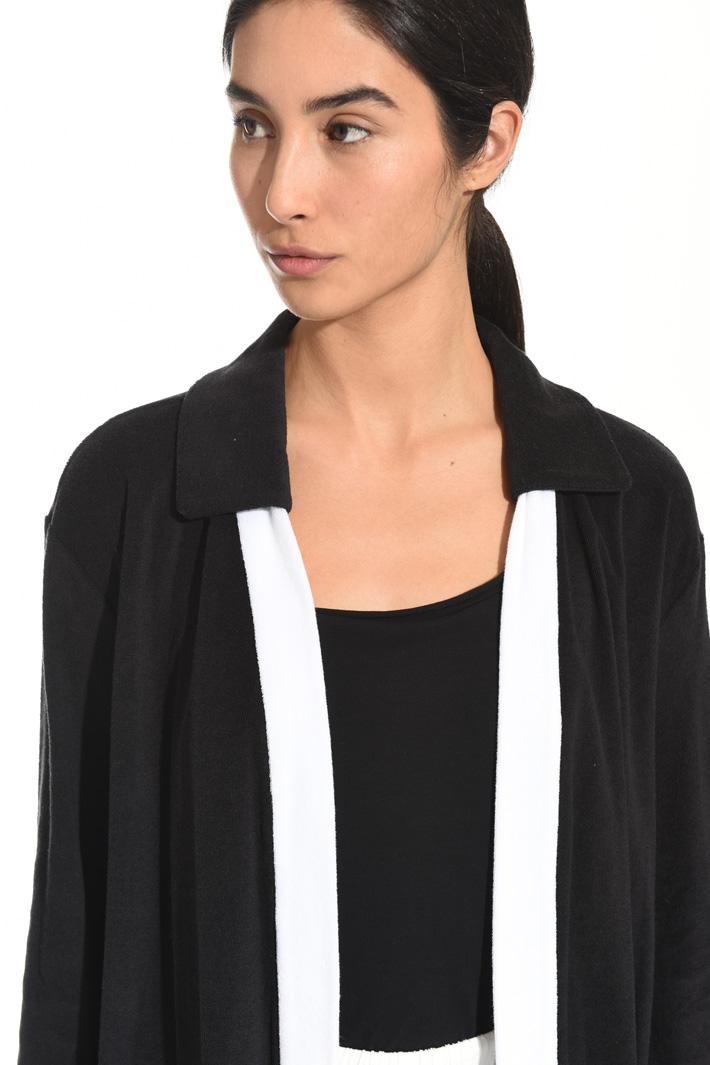 Giacca in jersey spugna Fashion Market