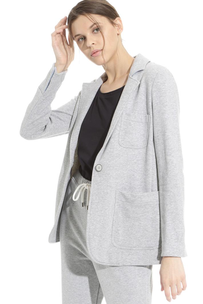 Blazer in felpa di cotone Fashion Market