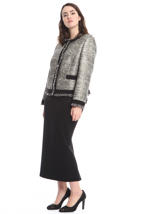 Giacca in bouclé lurex Fashion Market
