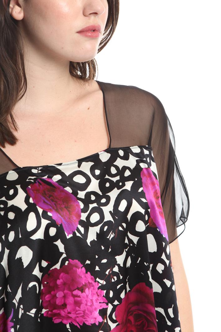 Casacca in raso di seta Fashion Market