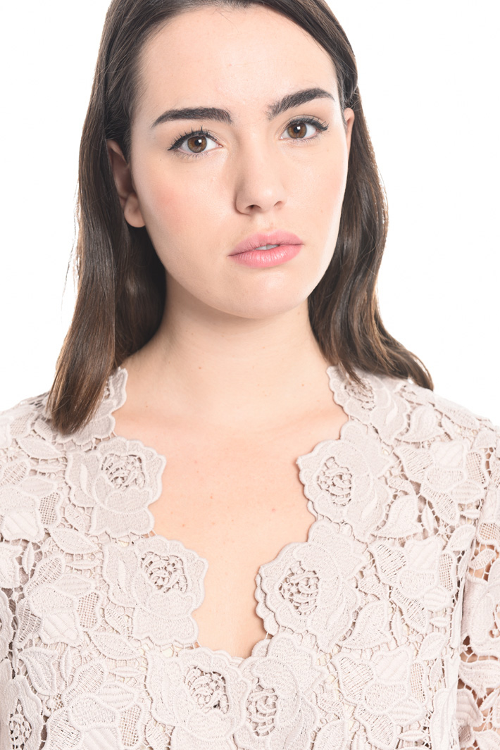 Giacca in macramè floreale Fashion Market