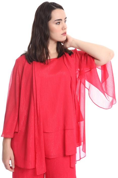 Coprispalle in creponne lurex Fashion Market