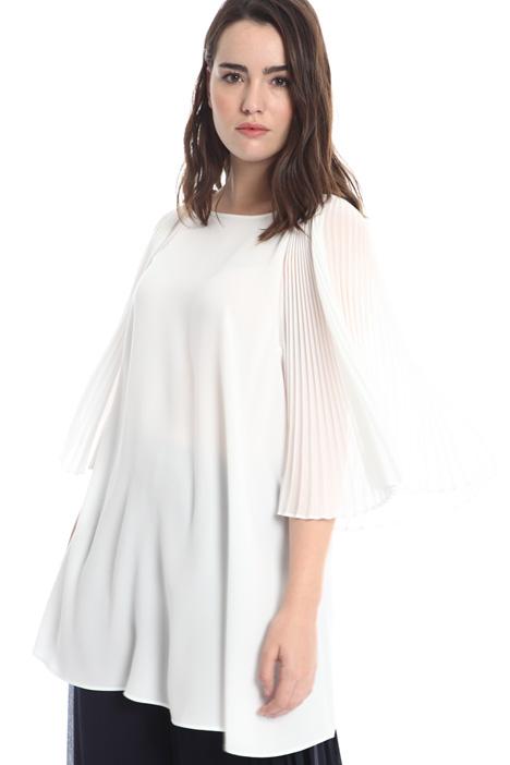 Casacca con maniche plissè Fashion Market