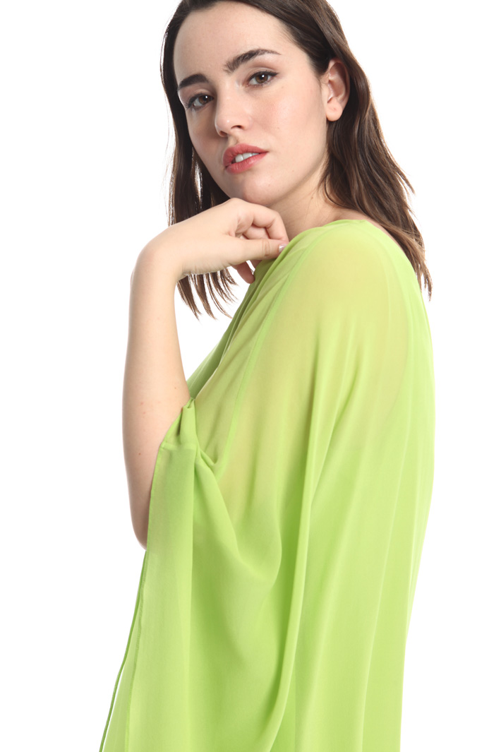Blusa monospalla in seta Fashion Market