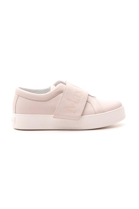 Sneakers in pelle semi lucida Fashion Market