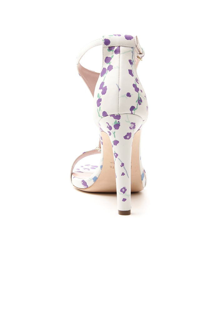 Sandalo in pelle stampata Fashion Market