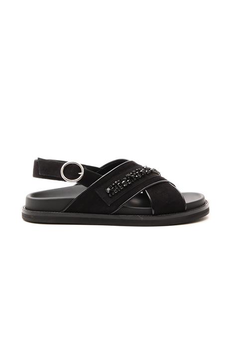 Sandalo con ricamo gioiello Fashion Market