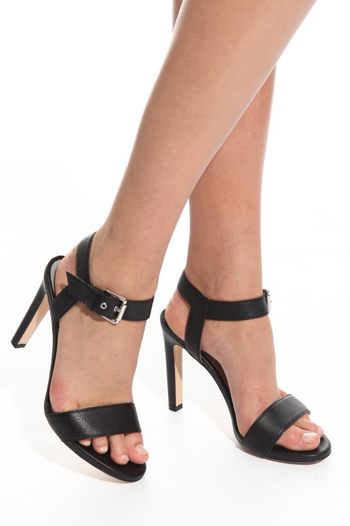 Sandalo in pelle bottalata Fashion Market