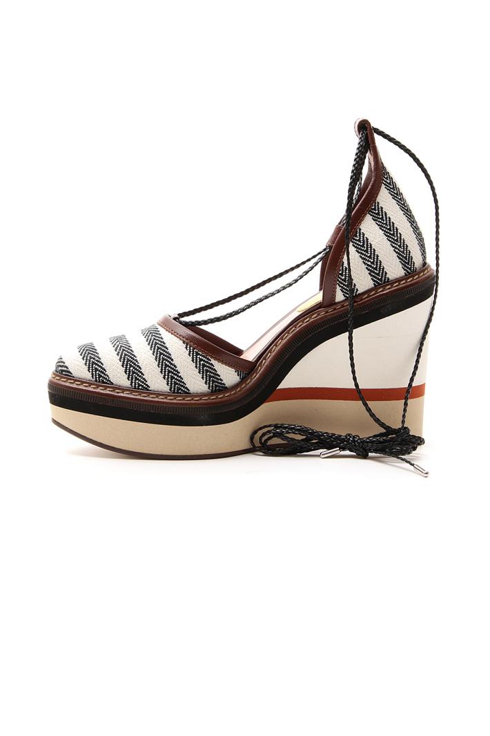 Zeppa rivestita in tessuto Fashion Market