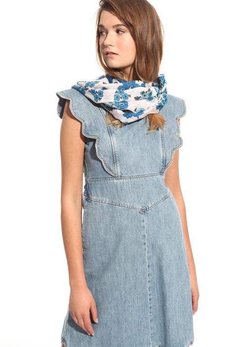Sciarpa in voile di cotone Fashion Market