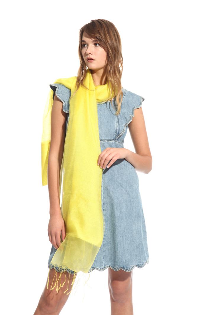 Stola in seta e viscosa Fashion Market