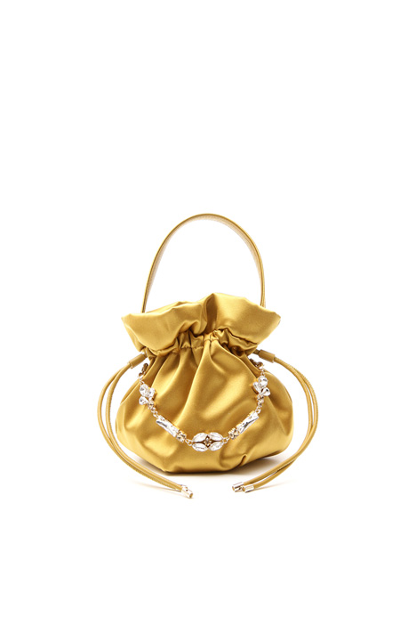Borsa a sacchetto con gioiello Fashion Market