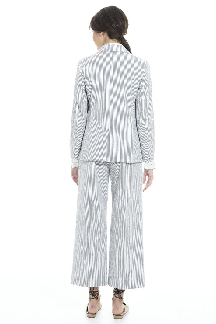 Giacca blazer in seersucker Fashion Market