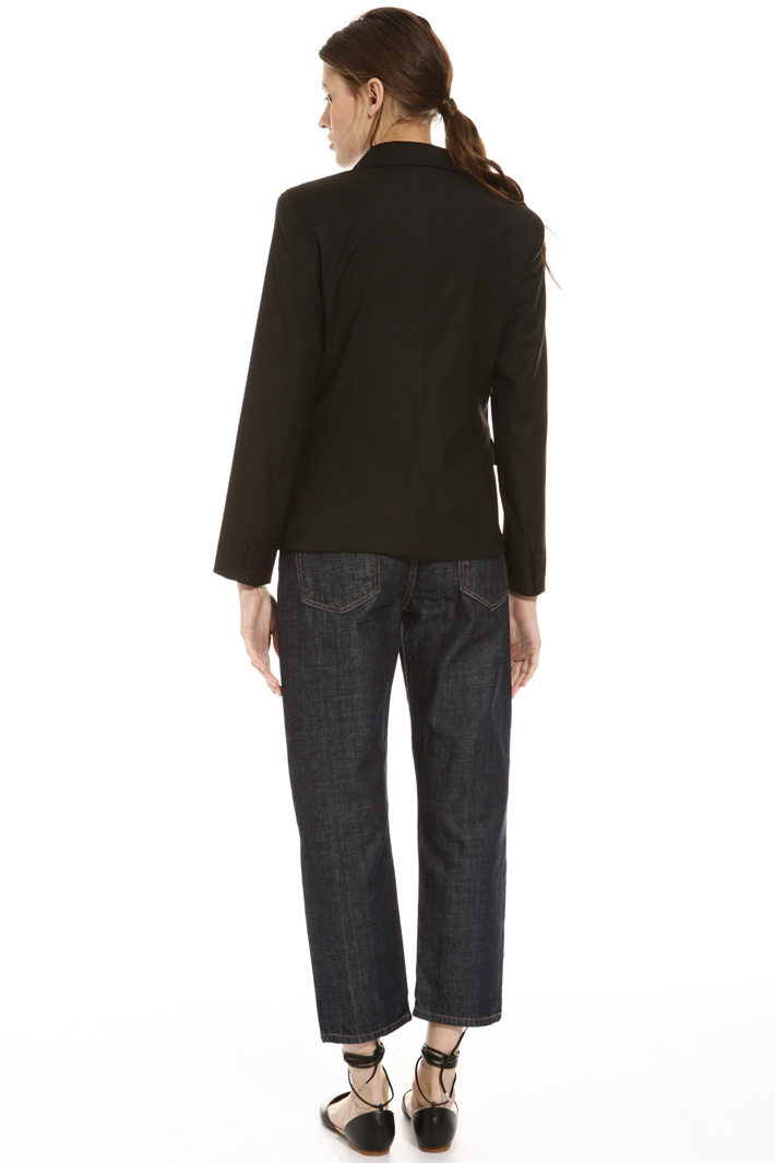 Blazer in misto lana Fashion Market