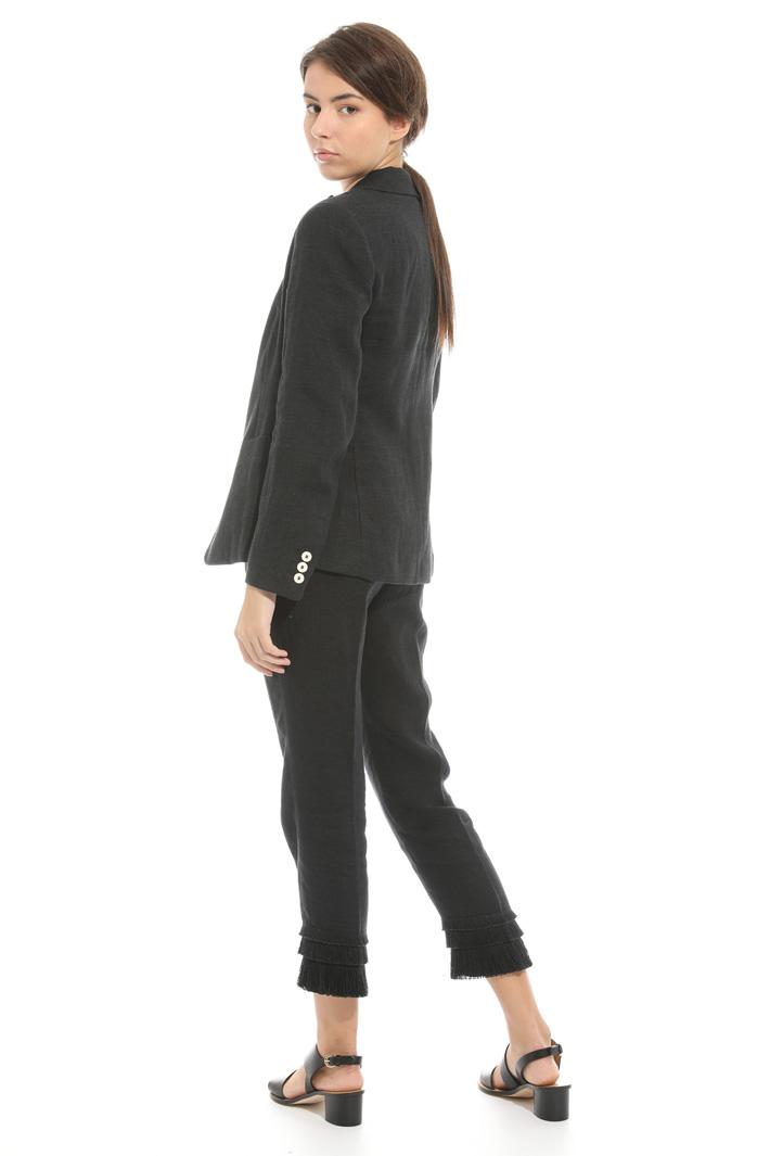 Giacca blazer in lino Fashion Market