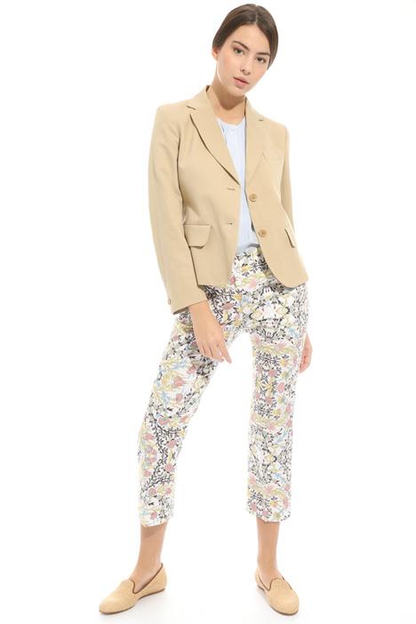 Giacca in misto lino e cotone Fashion Market
