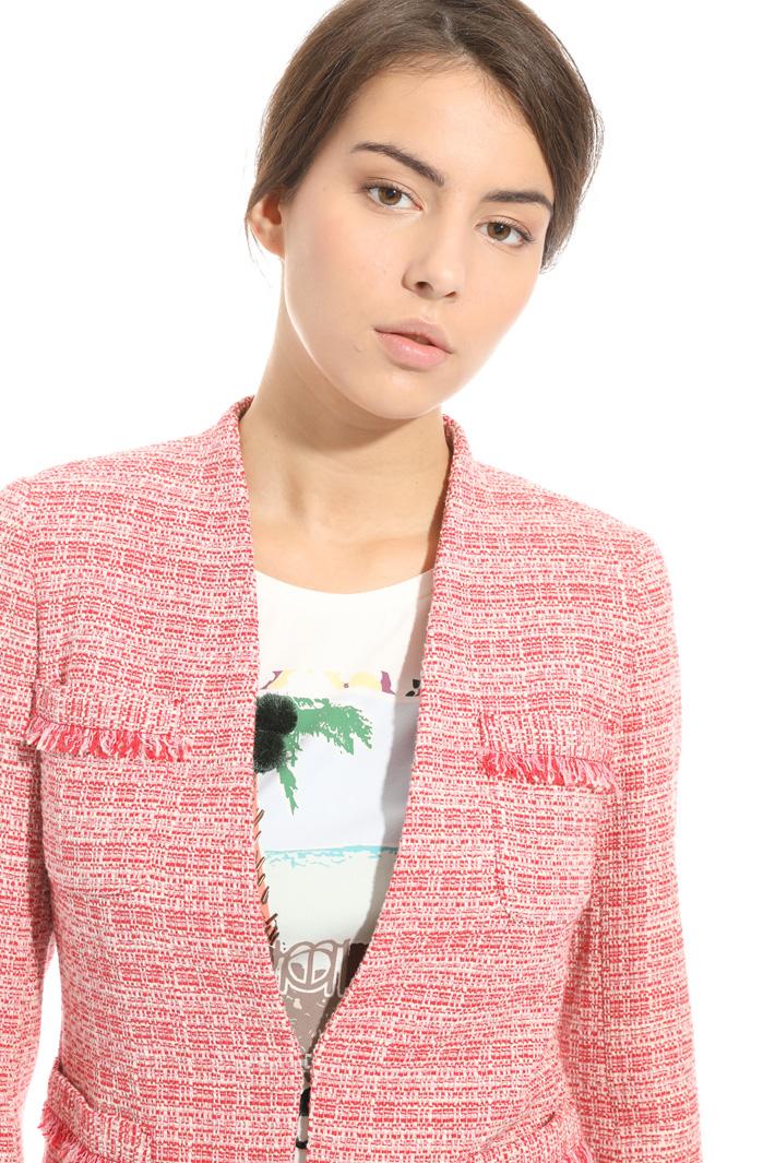 Blazer in stuoia lurex Fashion Market