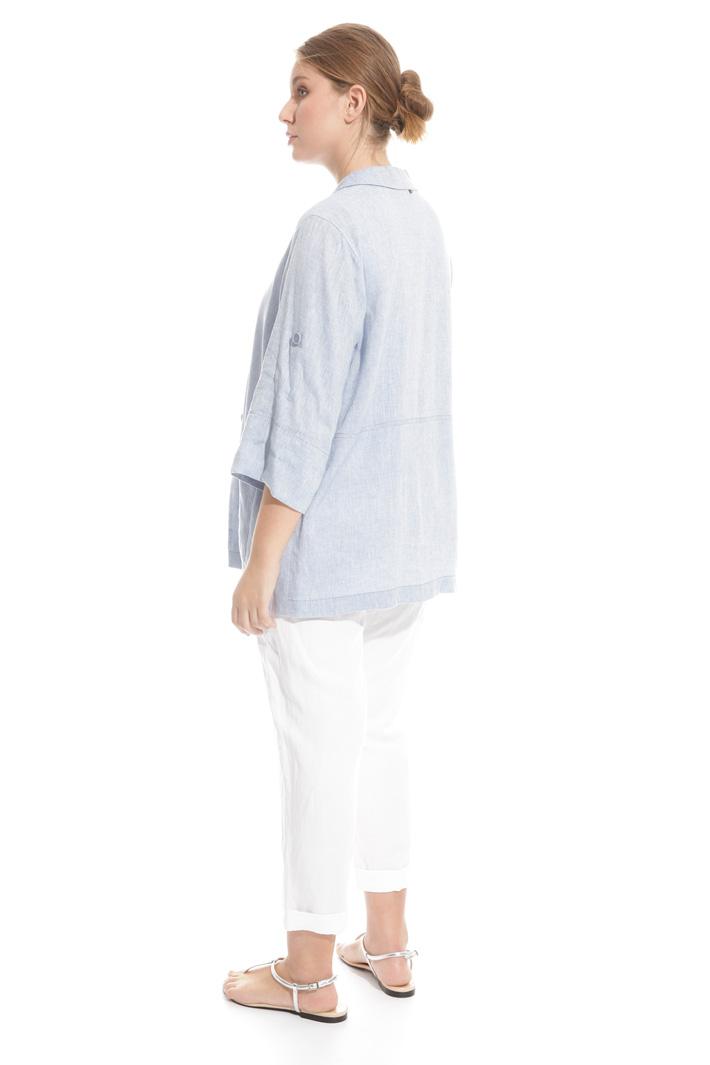 Blazer in misto lino  Fashion Market