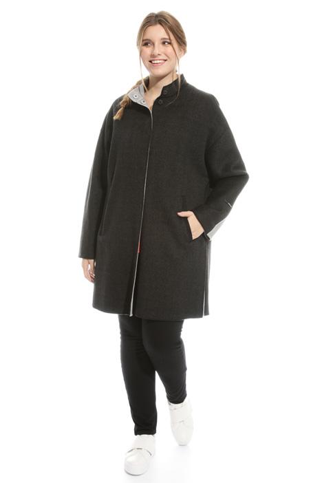 Cappotto in double di lana Fashion Market
