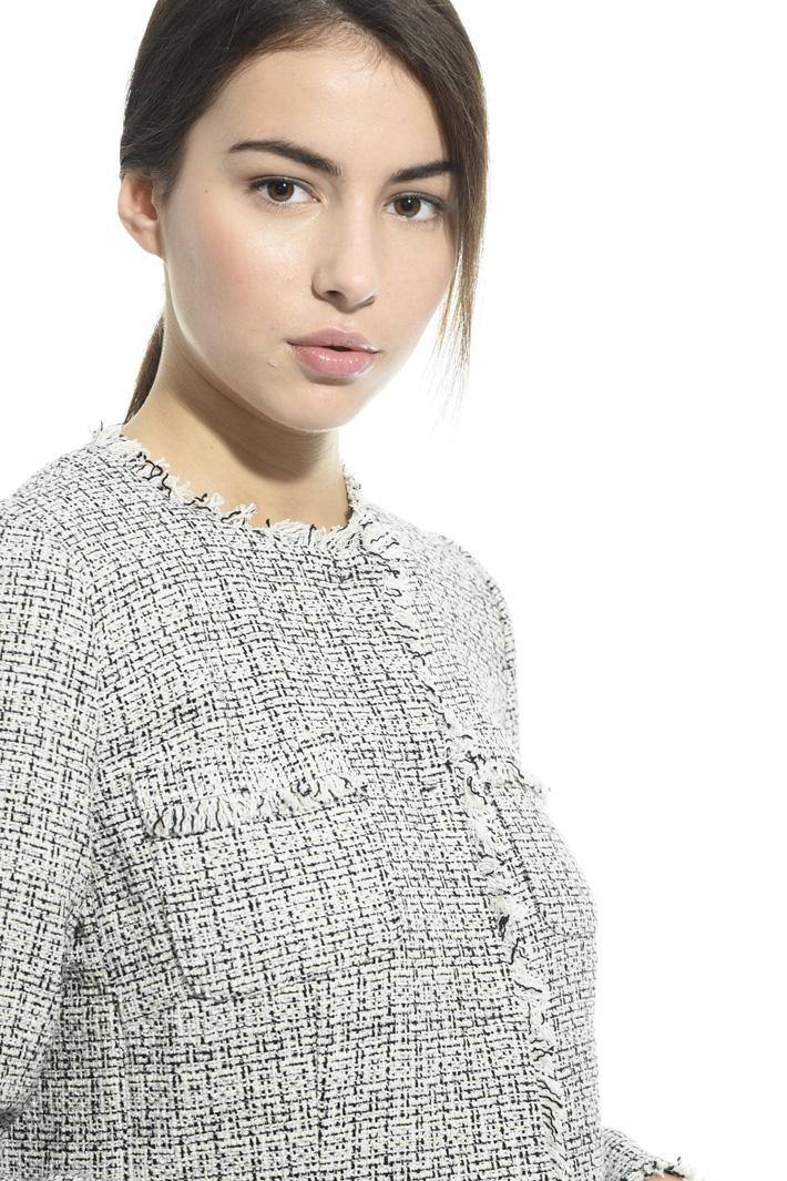 Spolverino in stuoia lurex Fashion Market