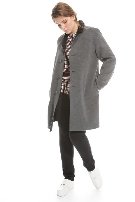 Cappotto reversibile in lana Fashion Market