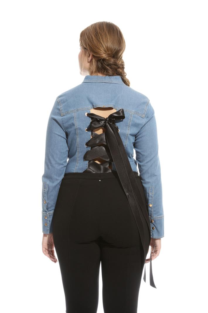 Camicia body in denim Fashion Market