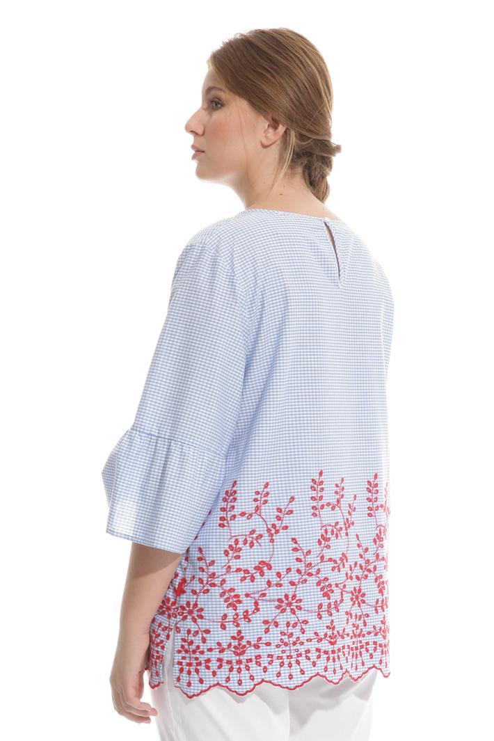 Casacca in cotone con ricami Fashion Market