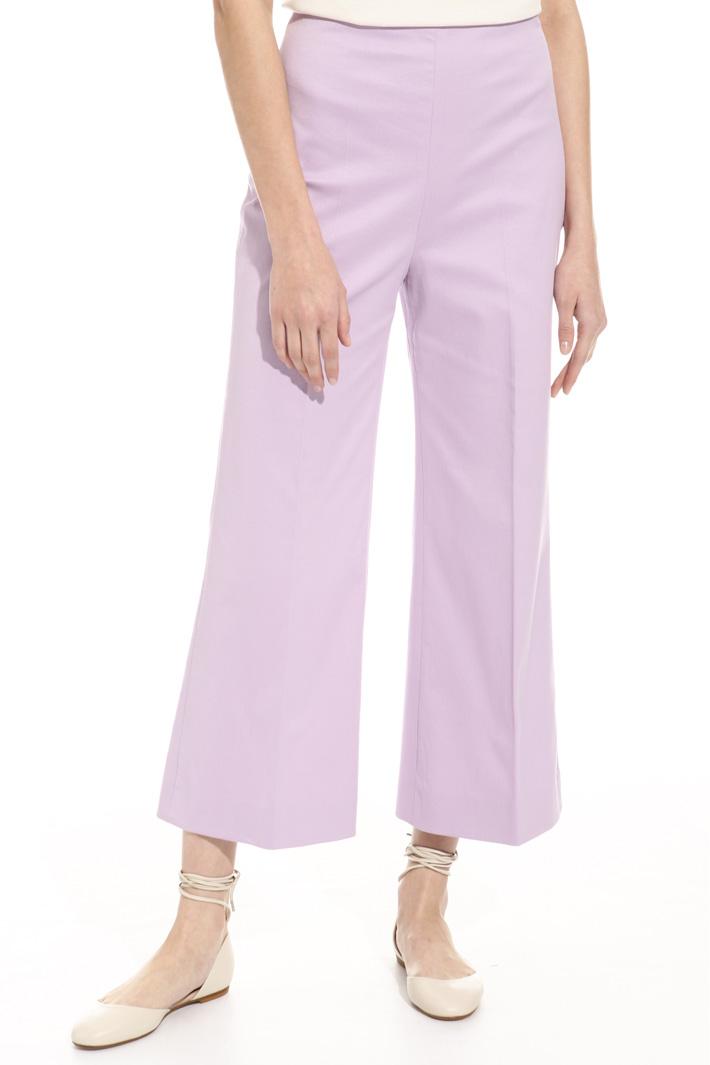 Pantalone in piquet Fashion Market