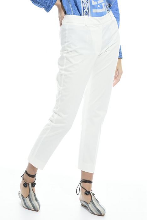 Pantalone capri in cotone Fashion Market