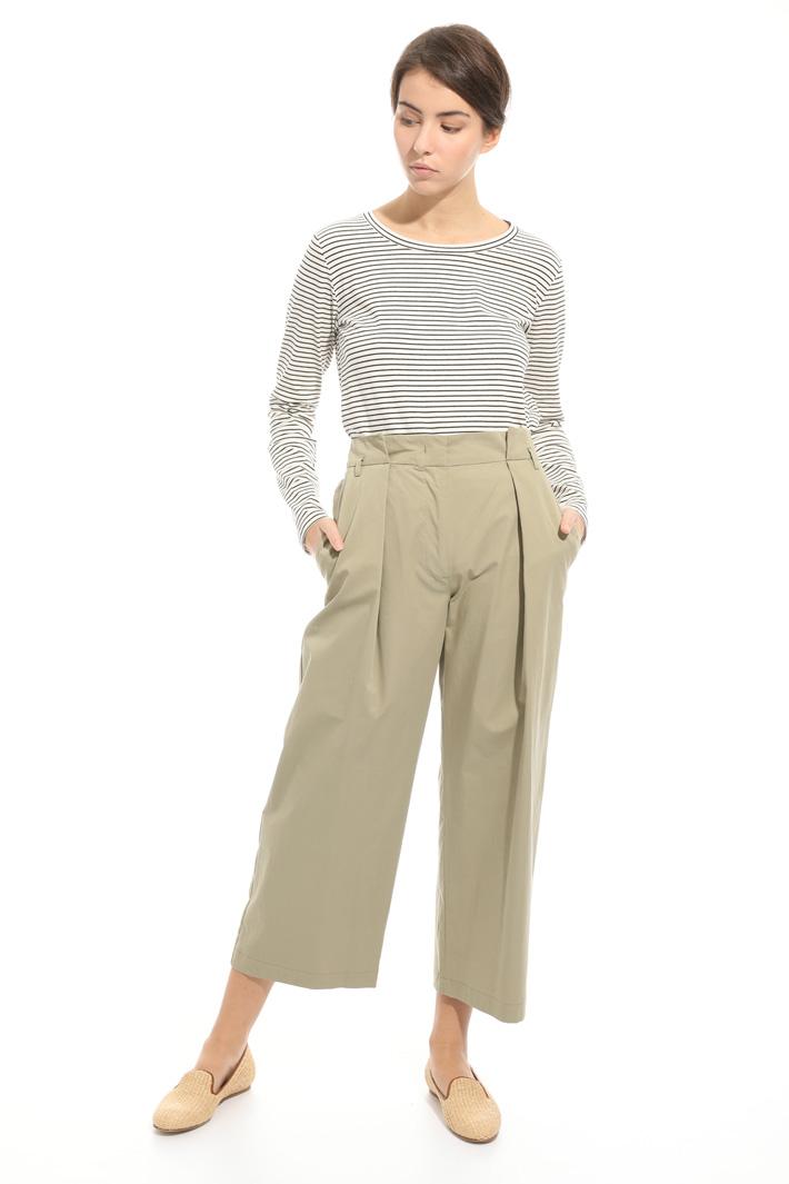 Pantalone con gamba ampia Fashion Market