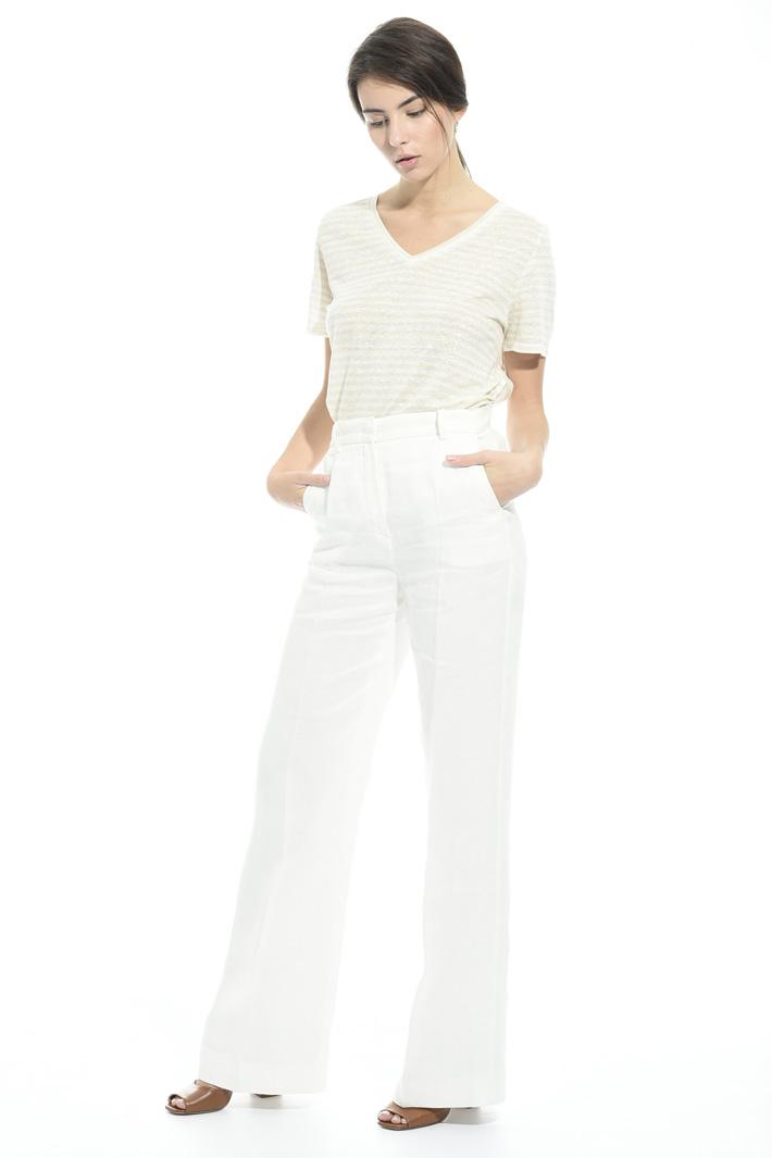 Pantalone in lino Fashion Market