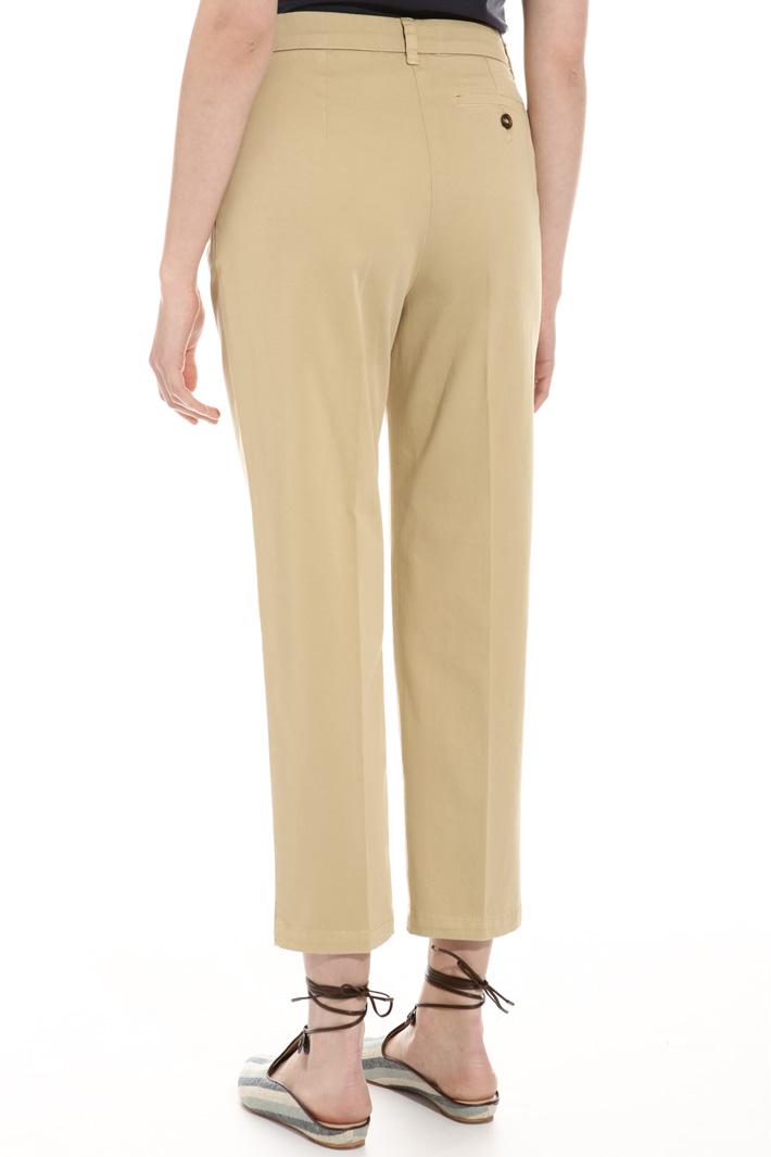 Pantalone in gabardina stretch Fashion Market