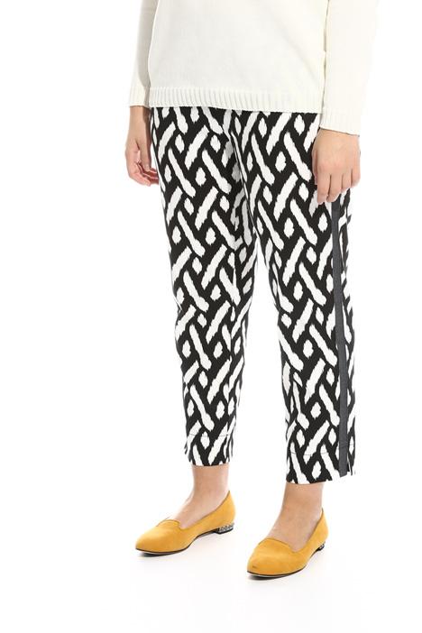 Pantalone cropped in cotone  Fashion Market