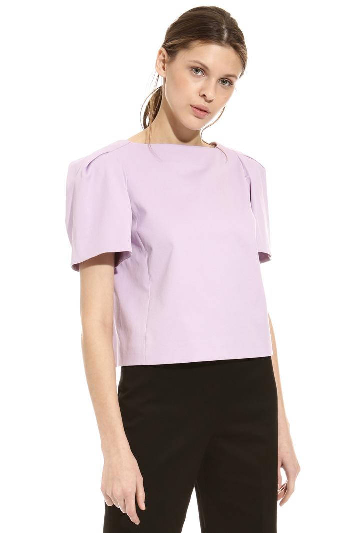 Top in piquet di cotone Fashion Market