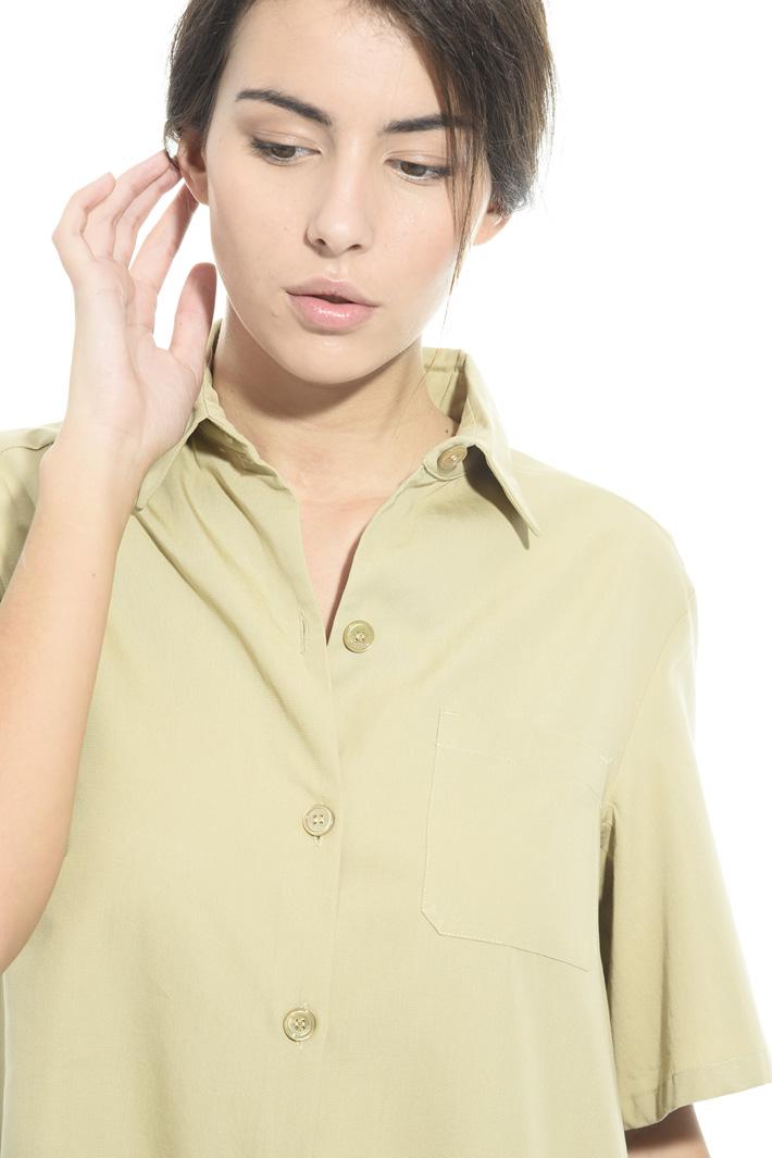Tuta in faille di cotone Fashion Market