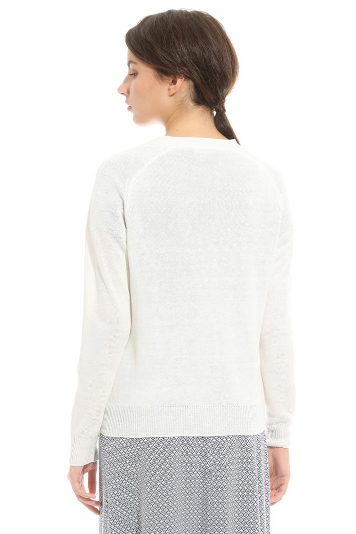 Cardigan in maglia in lino Fashion Market
