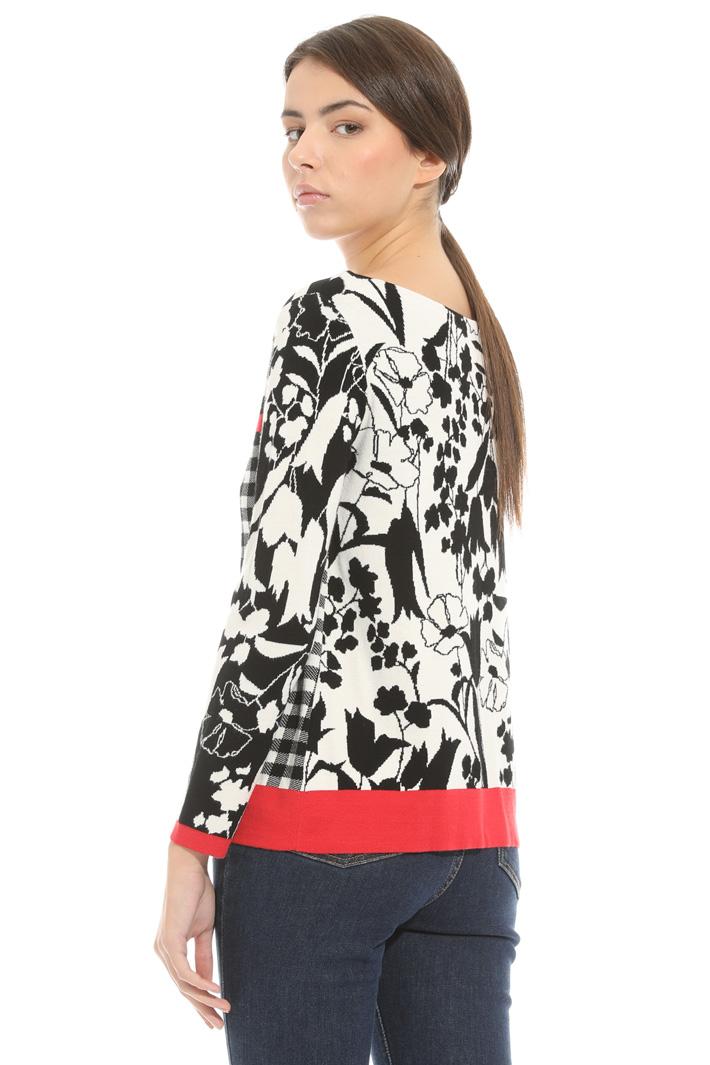 Maglia in jersey stampato Fashion Market