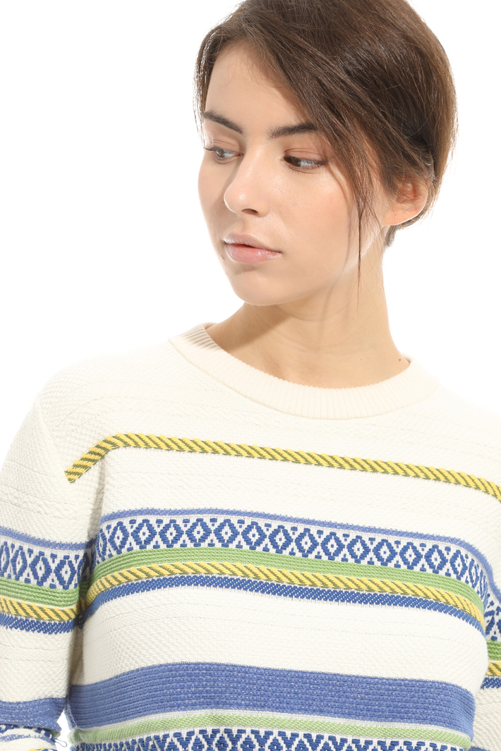 Maglia ad intarsi geometrici Fashion Market
