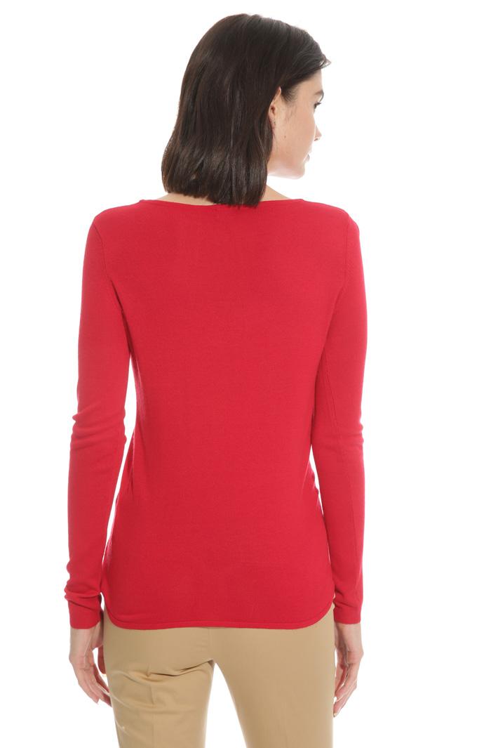 Maglia con nodo a decoro Fashion Market