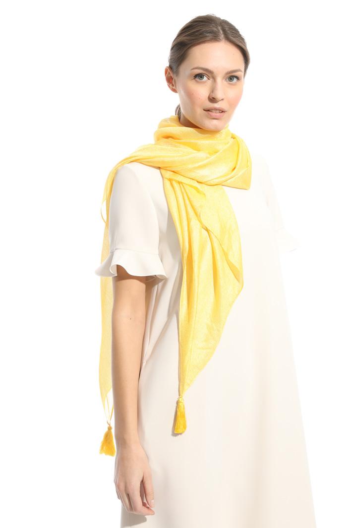 Sciarpa lucida con nappe Fashion Market